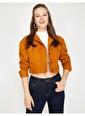 Koton Jean Ceket Sarı